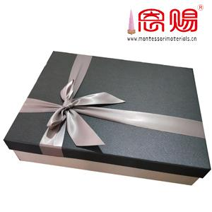 Board Game parts nice box with Bow, ribbon gift