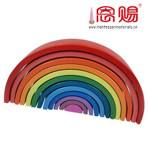 Rainbow 12 pcs per set wooden toys