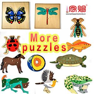 puzzles animals plants insects